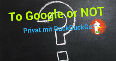 To Google or not to Google